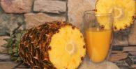 jugo de piña y jengibre para bajar de peso el abdomen
