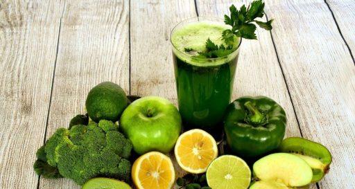Jugo verde depurativo y antioxidante natural